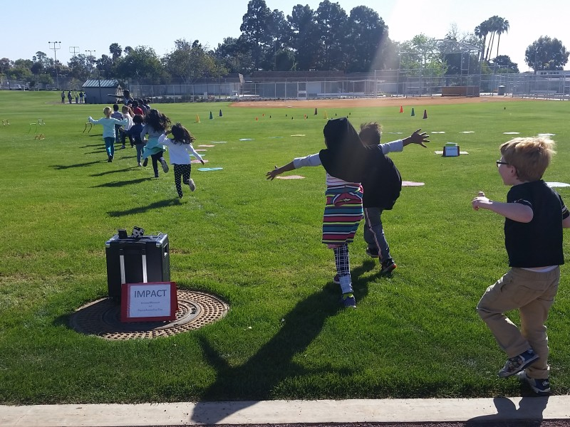 Active students celebrate San Diego's first joint-use