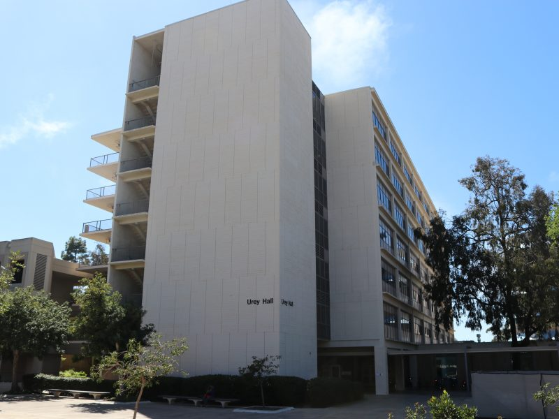 UC San Diego Kicks Off Stairwell Campaign at Urey Hall