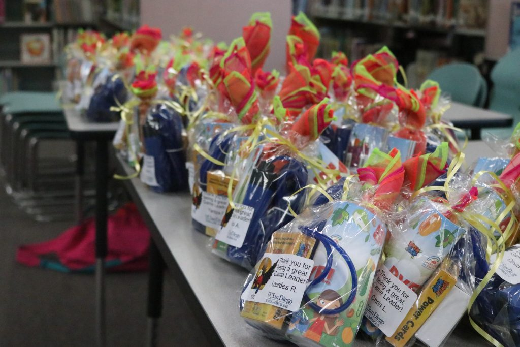 Celebrating Encanto Elementary School's Game Leaders! | UCSD