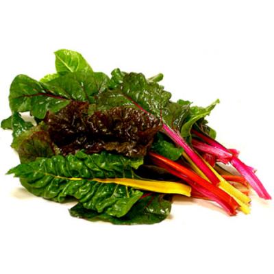 vegetales de hoja cocinados